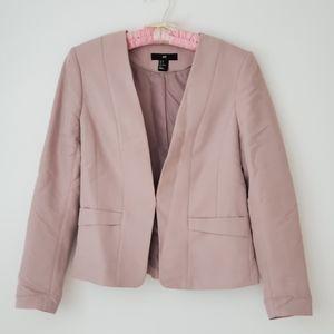 H&M Purple Grey Blazer Jacket - size 8